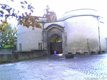 Entrance to Nottingham Castle