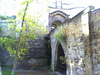 Under Nottingham Castle