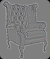 Quen Anne Wing chair