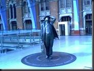 Sir John Betjemin, St Pancras Statue